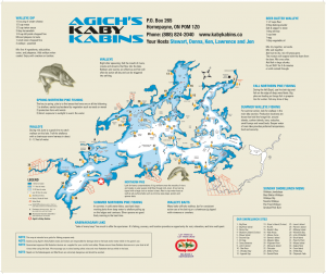 Agich's Kaby Kabins Map