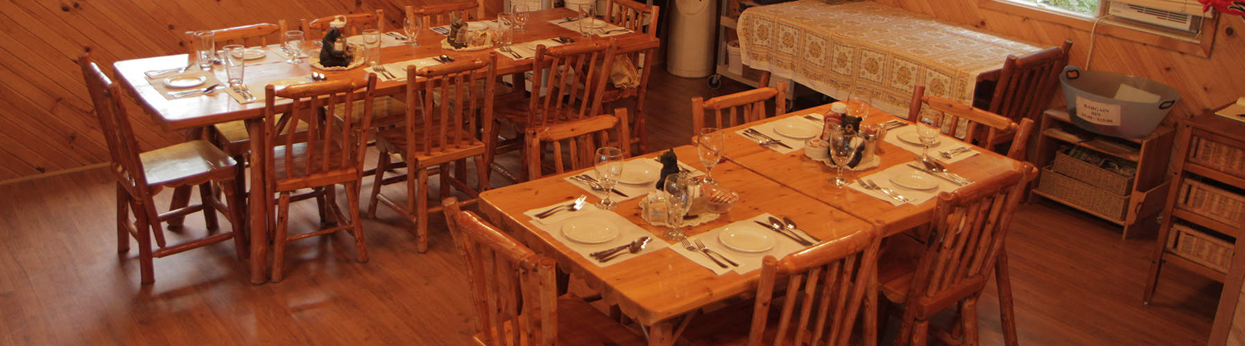 Agich's Kaby Kabins Dining