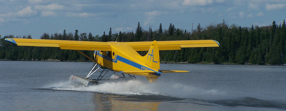 Agich's Kaby Kabins Float Plane